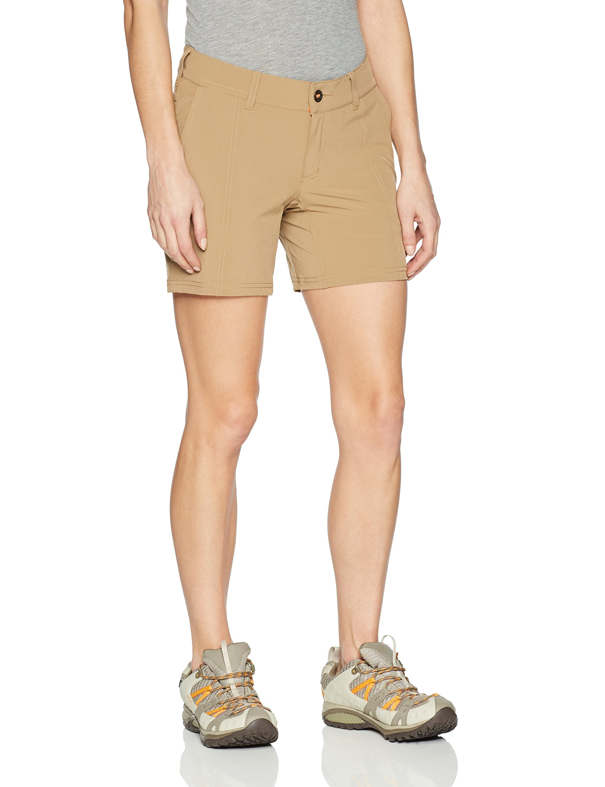 5.11 Women's Shockwave Tactical Shorts, Style 63002, Coyote, 12