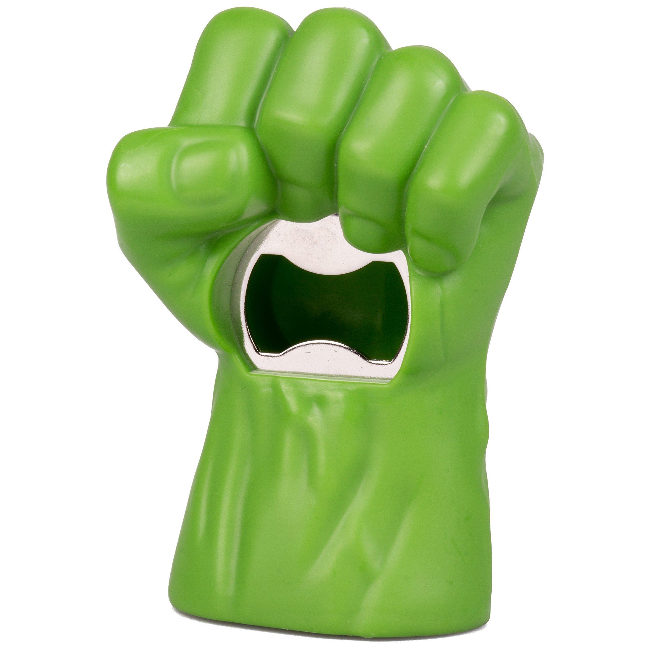 Marvel Hulk Fist Bottle Opener - Open Your Beverage Like a Super Hero