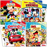 """Disney """"My First"""" Look and Find Books Set Kids Toddlers -- 4 Books w Stickers (Mickey Mouse, Minnie Mouse and More!)"""