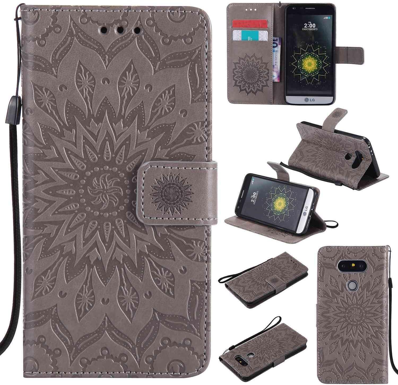 Guran® Funda de Cuero para LG G5 / LG G5 SE 5.3