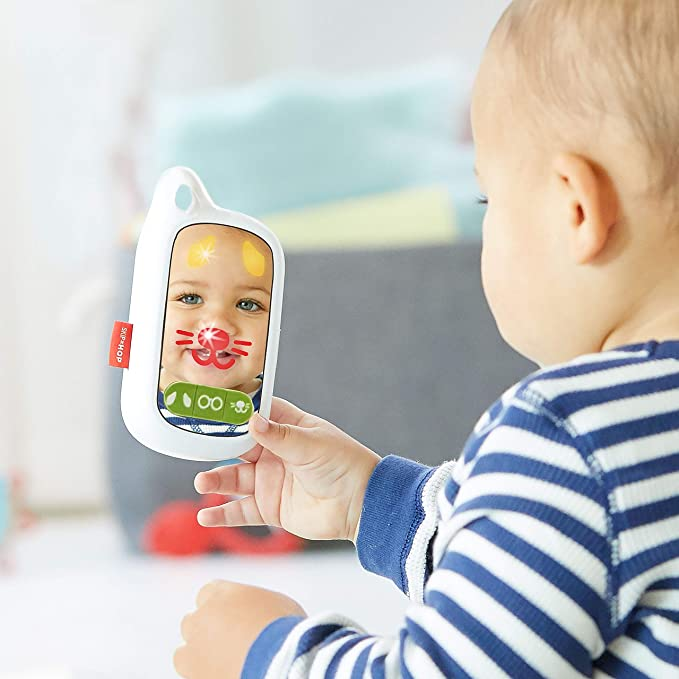 Skip Hop Baby Phone Toy Dinosaur 0.3 Pound Zoo Cell Phone