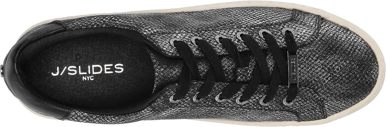 8.5 Medium US JSlides Womens Hippie Sneaker Dark Pewter