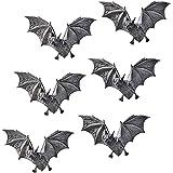 Key Hook Rack - Vampire Bat Key Holder Wall Sculpture: Large - Bat Figure - Halloween Bats Design Toscano CL5847-Parent