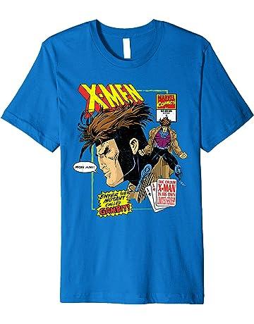 e3e7dae8 Marvel X-Men Cajun Gambit Remy LeBeau Comic Art T-Shirt