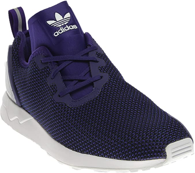 7895d1af39bb adidas ZX Flux ADV Asymmetrical Purple Black-White