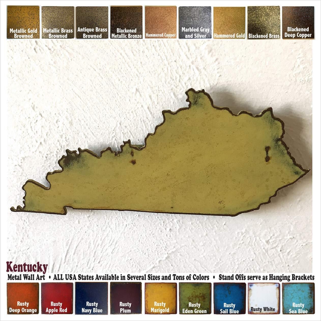 Amazon.com: Kentucky metal wall art - Choose 11\