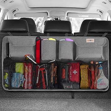 Amazon.com: Organizador de maletero de coche Surdoca, Gris ...