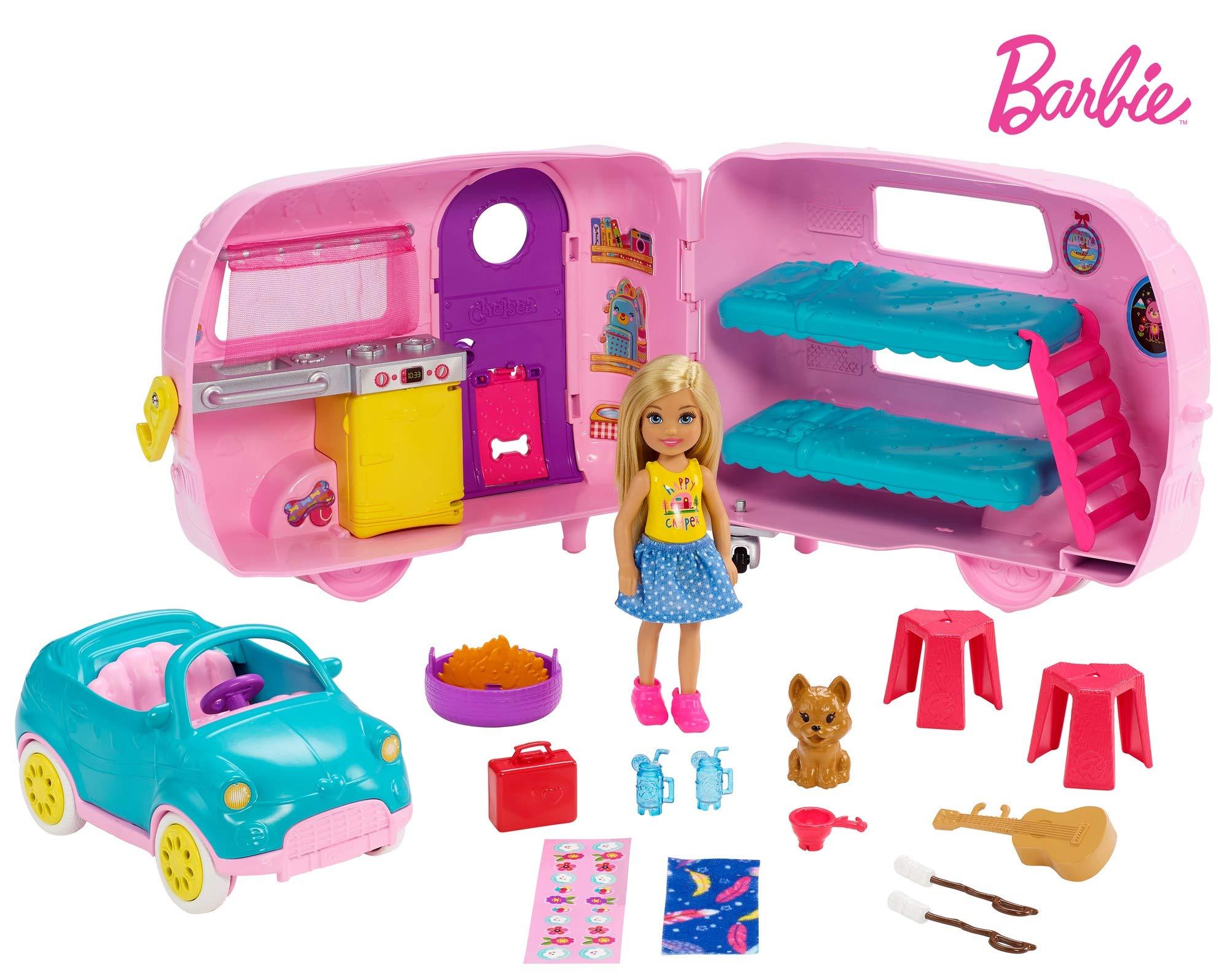 Barbie Club Chelsea Camper by Barbie