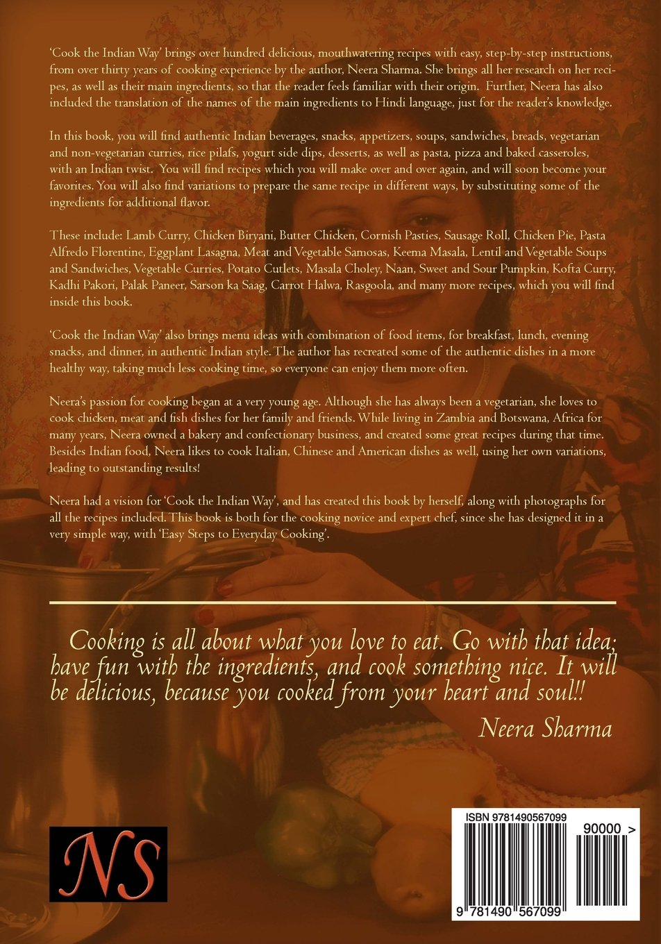Cook the indian way easy steps to everyday cooking neera sharma cook the indian way easy steps to everyday cooking neera sharma 9781490567099 amazon books forumfinder Gallery