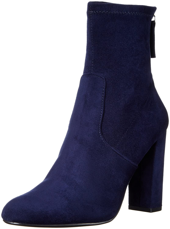 Steve Madden Women's Brisk Ankle Bootie B01G7P4SSG 8 B(M) US|Navy
