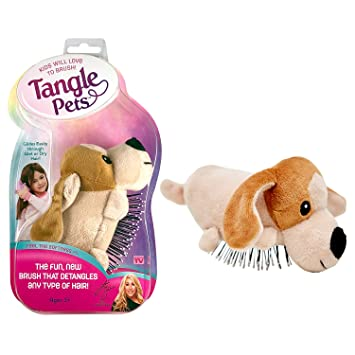 Buy Tangle Pets Pepper The Puppy The Detangling Brush In A Plush