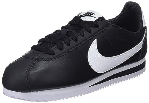 chaussures de tempérament plus grand choix de vente de sortie Nike WMNS Classic Cortez Leather, Chaussures de Gymnastique Femme
