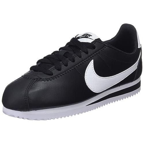 Black and White Leather Shoes: Amazon.co.uk
