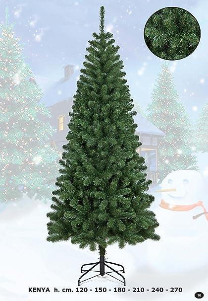 Albero Di Natale H 240.Albero Di Natale Kenya 210 Cm