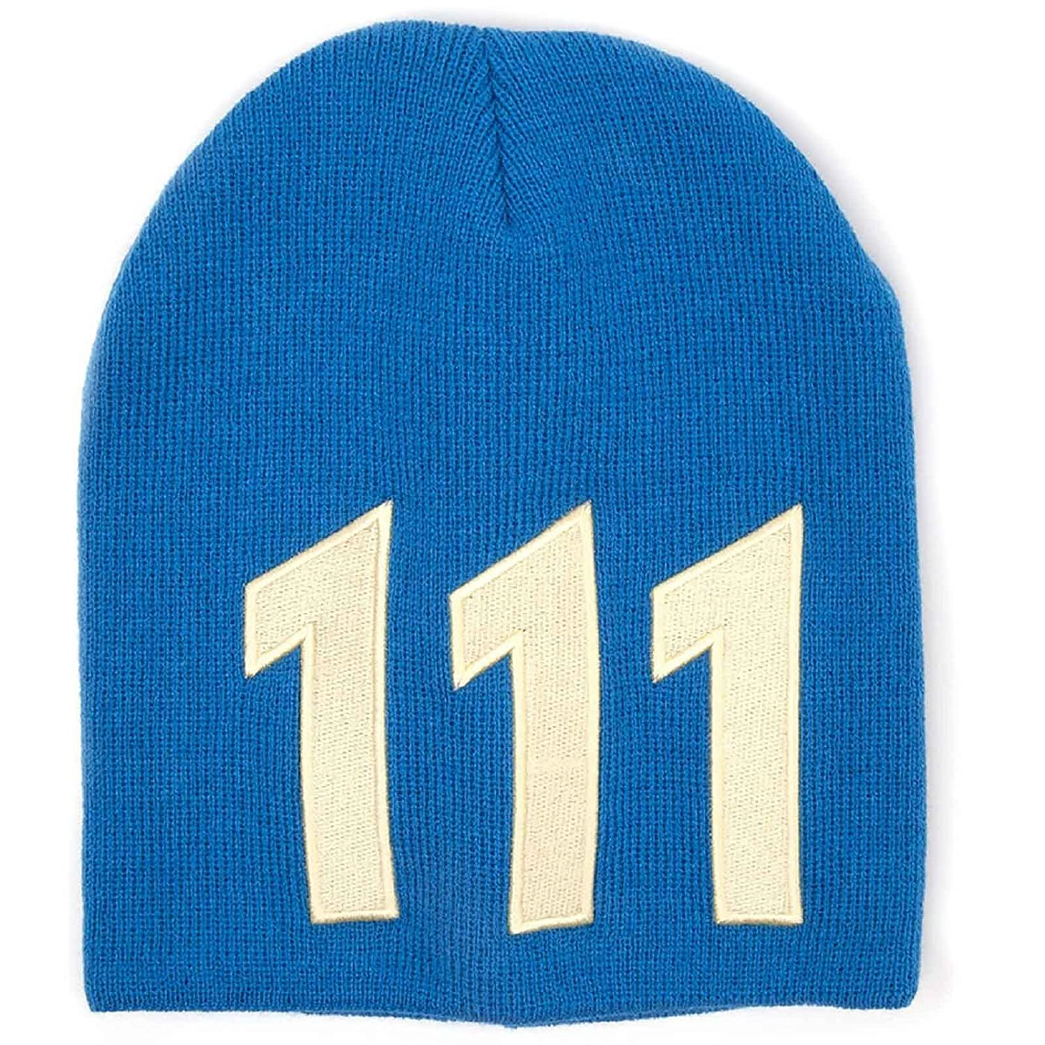 Fallout 4 Beanie Hat Cap Vault 111 new Official PS4 Xbox Blue