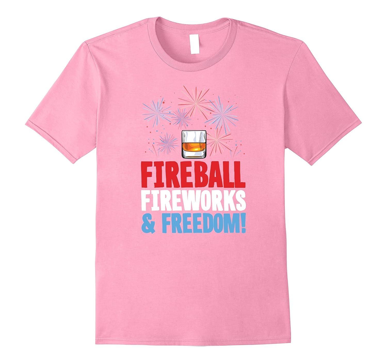 Fireball Fireworks Freedom Shirt  4th of July Summer Shirt-TD