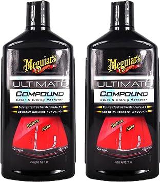 Meguiar S 2x Meguiars Ultimate Compound Autopolitur Lackpolitur Politur 450 Ml Auto