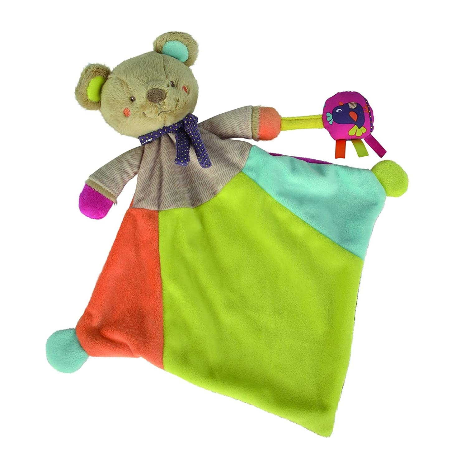 NICOTOY- Doudou Ours Gary Grand, 5793596, Mehrfarbig