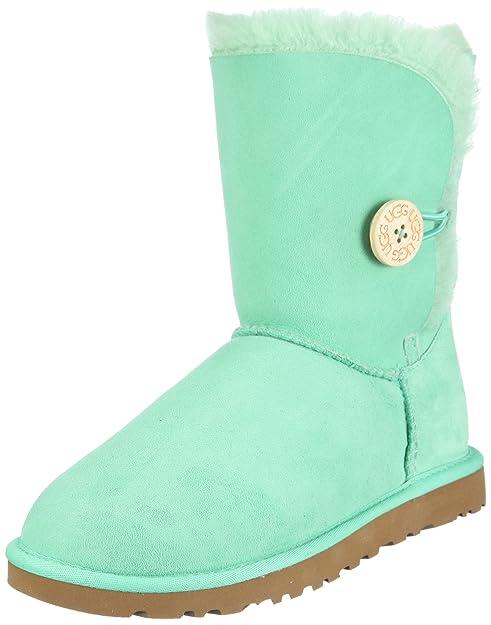 cd5744d79 UGG Bailey Button 5803 - Botas Planas Mujer  Ugg  Amazon.es  Zapatos y  complementos
