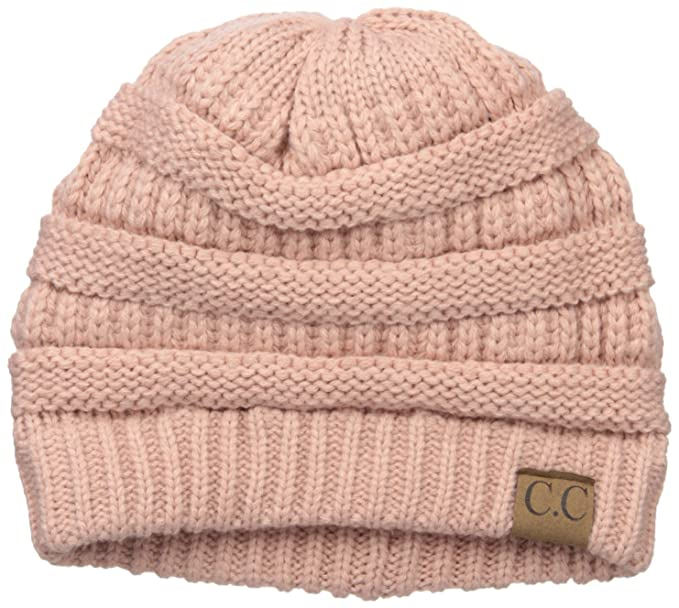 ba0601378 Amazon.com: Colorado Chick Women's Slouchy Knit Beanie, India Pink ...