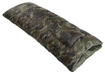 Saco de dormir (250 gsm), estampado de camuflaje: Amazon.es: Deportes y aire libre