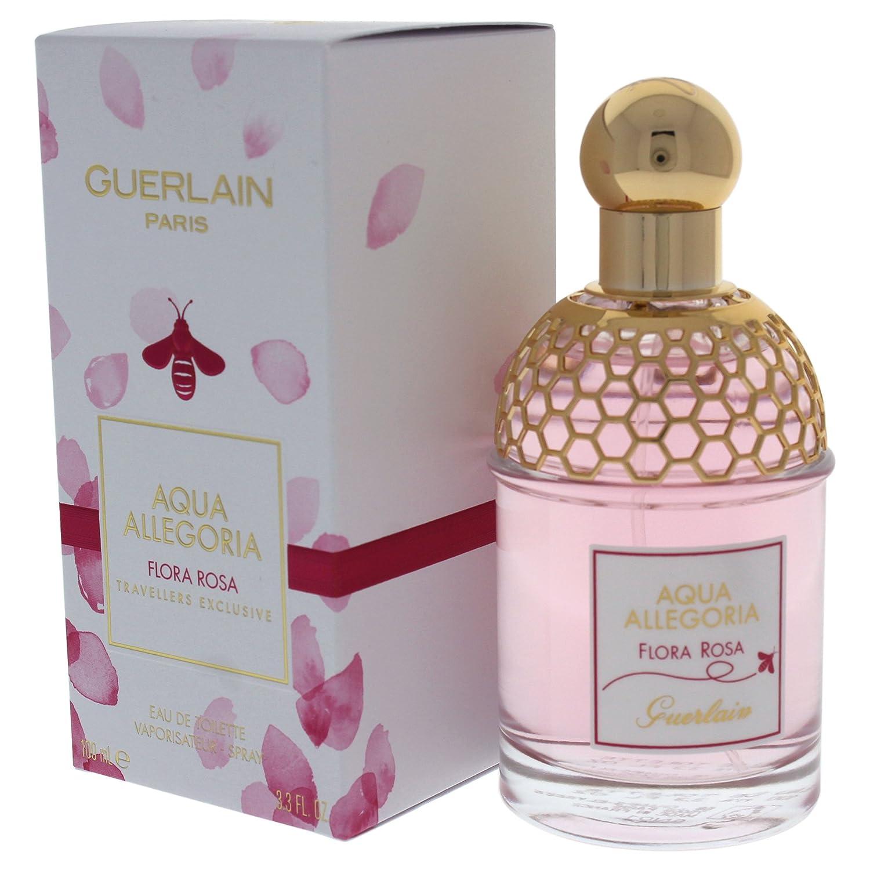 Guerlain Aqua Allegoria Flora Rosa Agua de Colonia - 100 ml ...