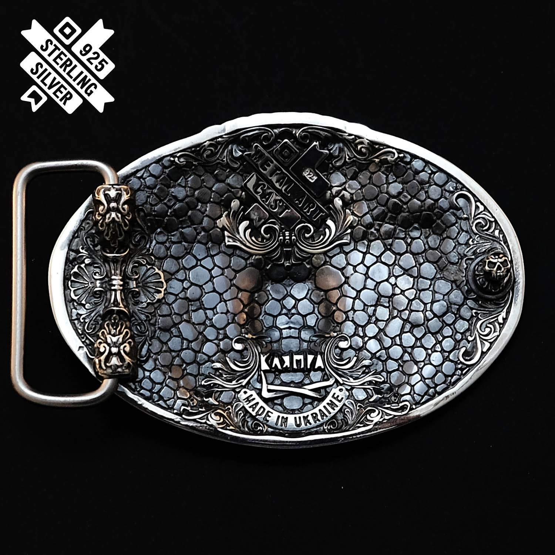Belt Buckle .925 Handmade Sterling Silver