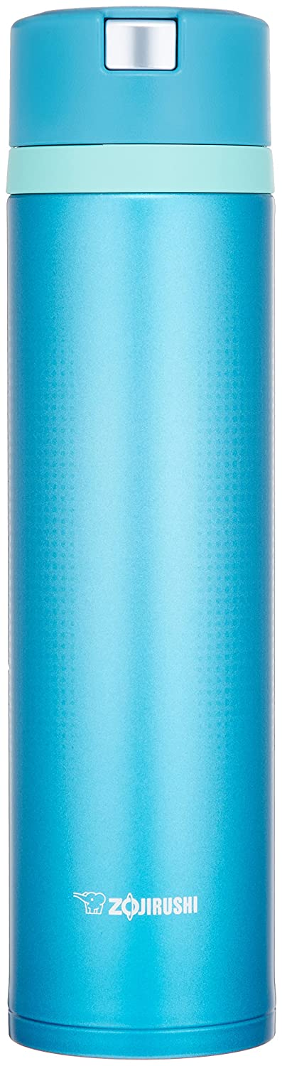 Zojirushi Japanese Water Bottle .6 L quick & easy open marine blue rock. SM XB AM 6. Zojirushi of ZOJIRUSHI. SM-XB60-AM