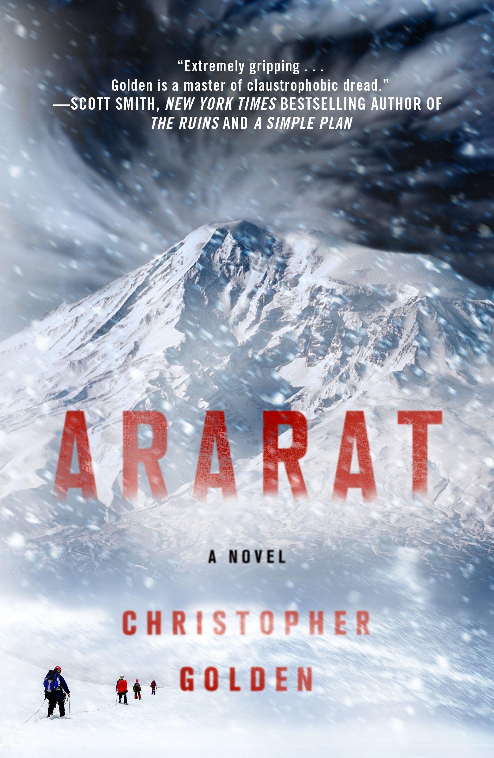 Resultado de imagem para Ararat de Christopher Golden
