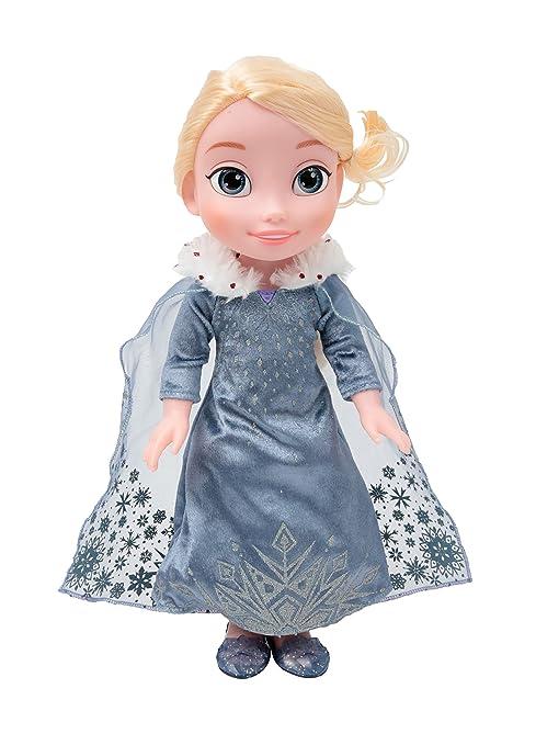 Giochi preziosi frozen bambola elsa cantante con vestito che si