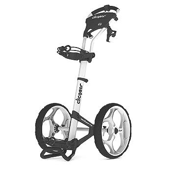 Clicgear 6.0 de 2 Wheel Carrito de Golf, Unisex, CG4306000, Arctic/White.: Amazon.es: Deportes y aire libre
