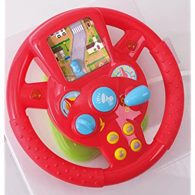 PlayGo Steering Wheel: Toys & Games