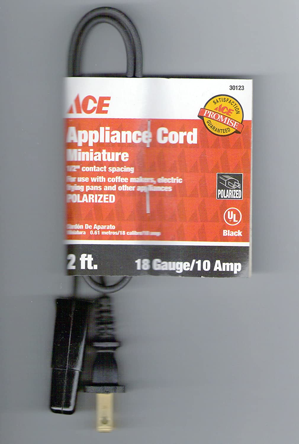 Ace Small Appliance Extension Cord (1AD-003-002FBK)