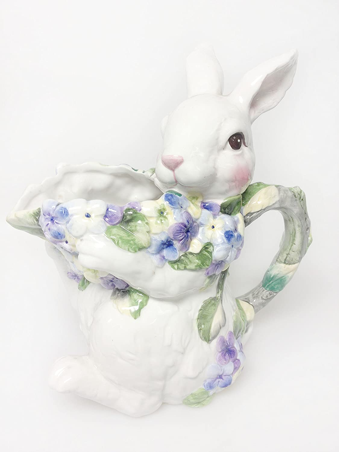 Ceramic Bunny Water Pitcher 67003