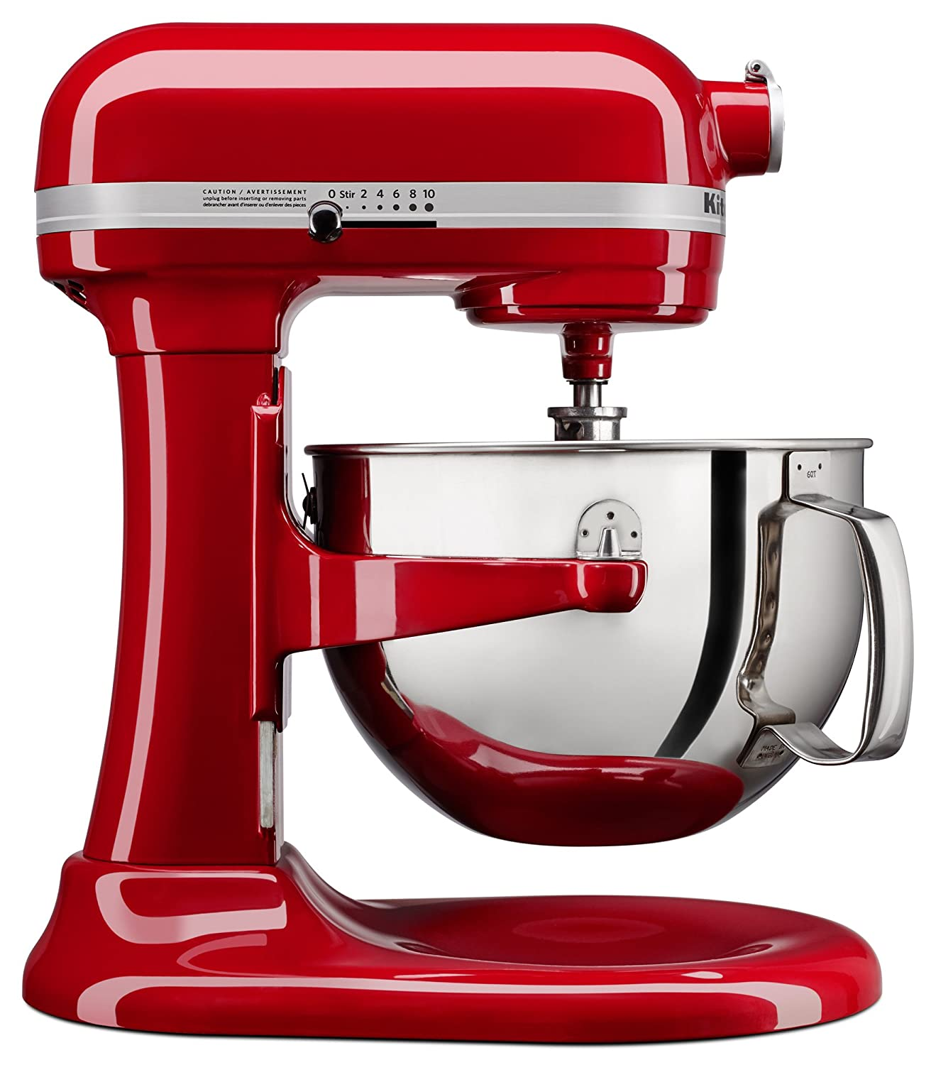 $299.99 (was $379.99) KitchenAid KL26M1XER Professional 6 quart Bowl-Lift Stand Mixer, Empire Red