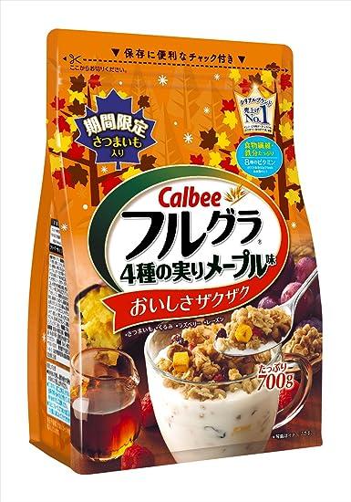 Calbee Furughllha bolsa de 700g sabor de cuatro fruct?fera de arce