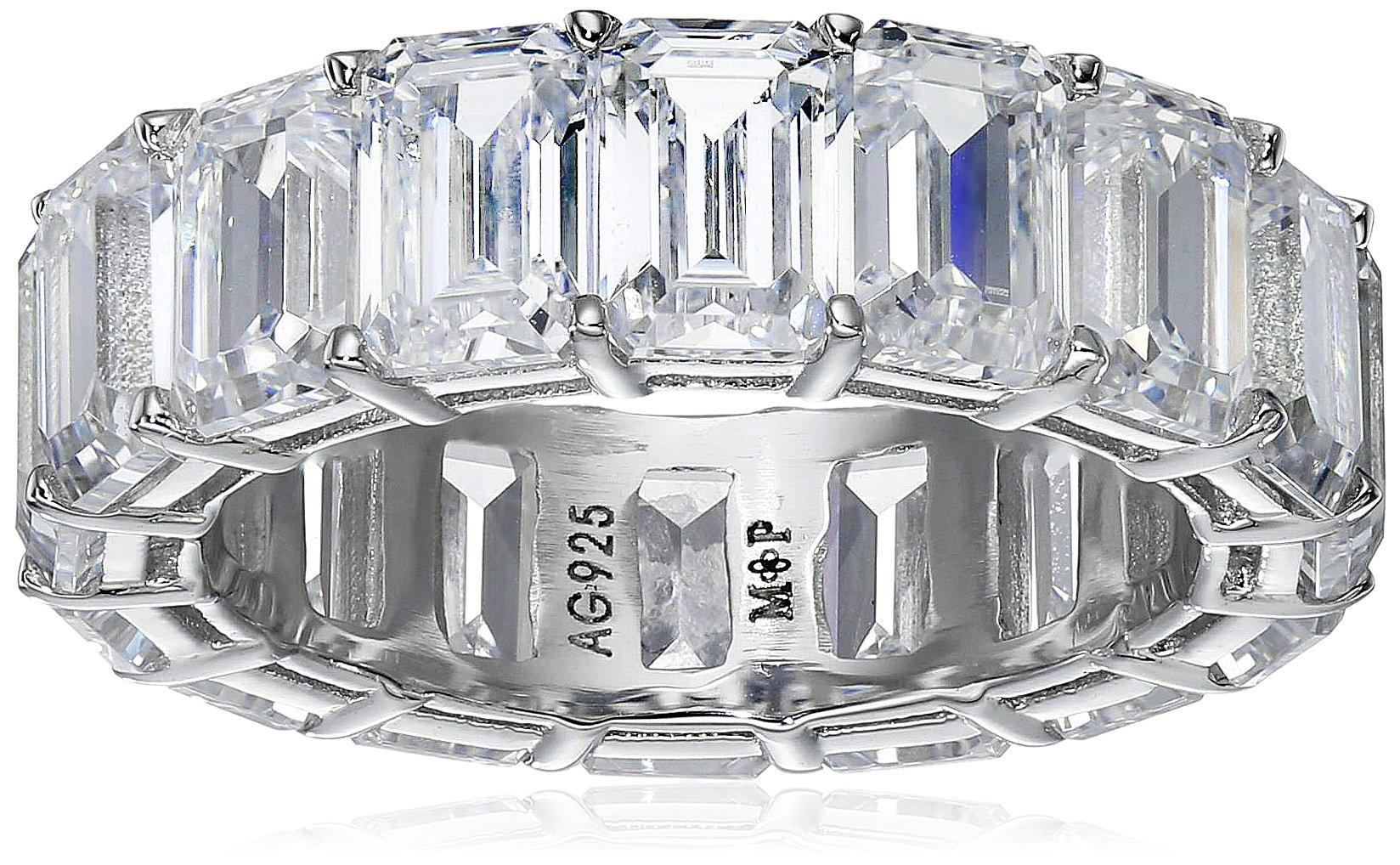 Myia Passiello ''Timeless'' Swarovski Zirconia Emerald Ring, Size 6