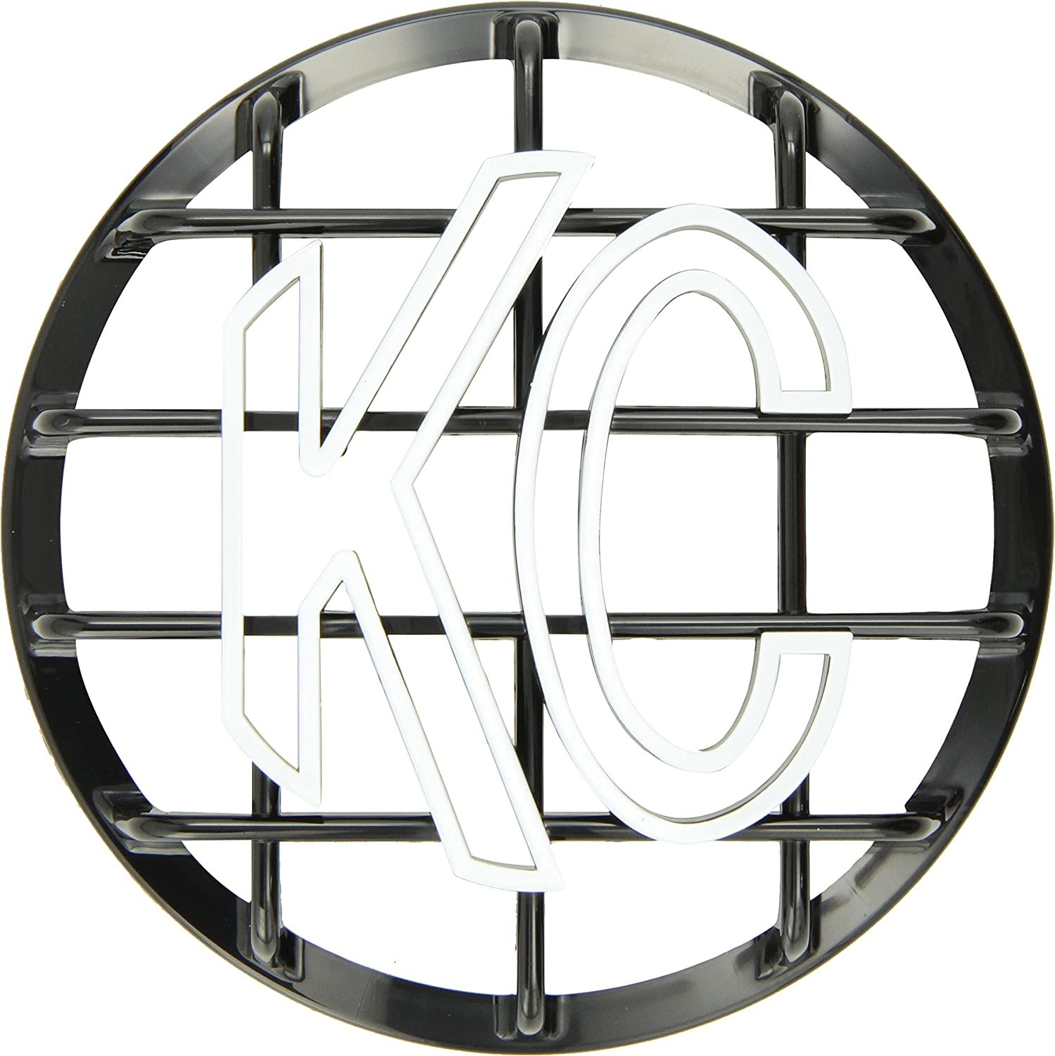 KC HiLiTES 7210 6' Black ABS Stone Guard - Single Guard