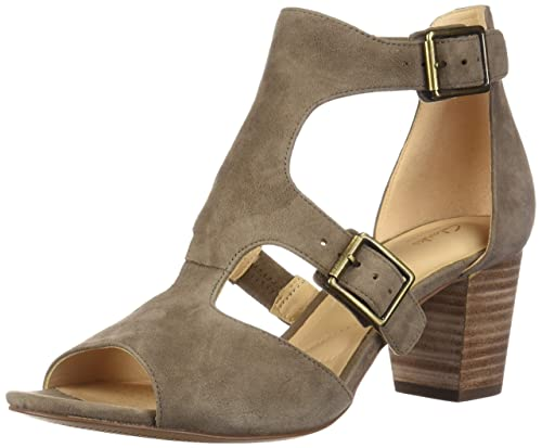 199dce0685746 CLARKS Women s Deloria Kay Olive Suede 7 B US B ...