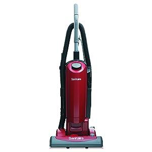 Sanitaire SC5815D HEPA Filtration Upright Vacuum, 23 lb, 4.5 qt, Red