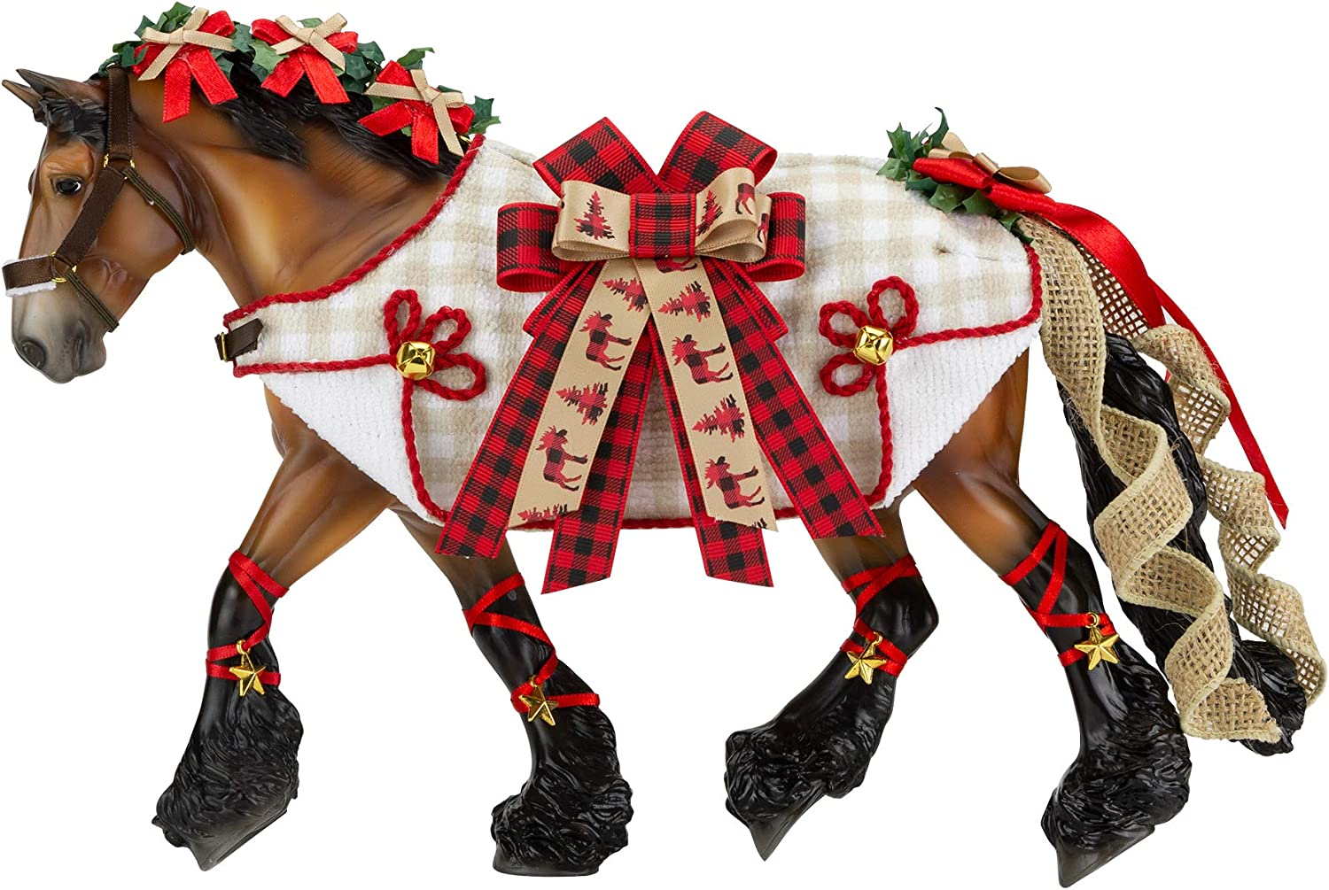 Breyer Horses 2020 Holiday Collection | Traditional Series Holiday Horse - Yuletide Greetings | Model #700123