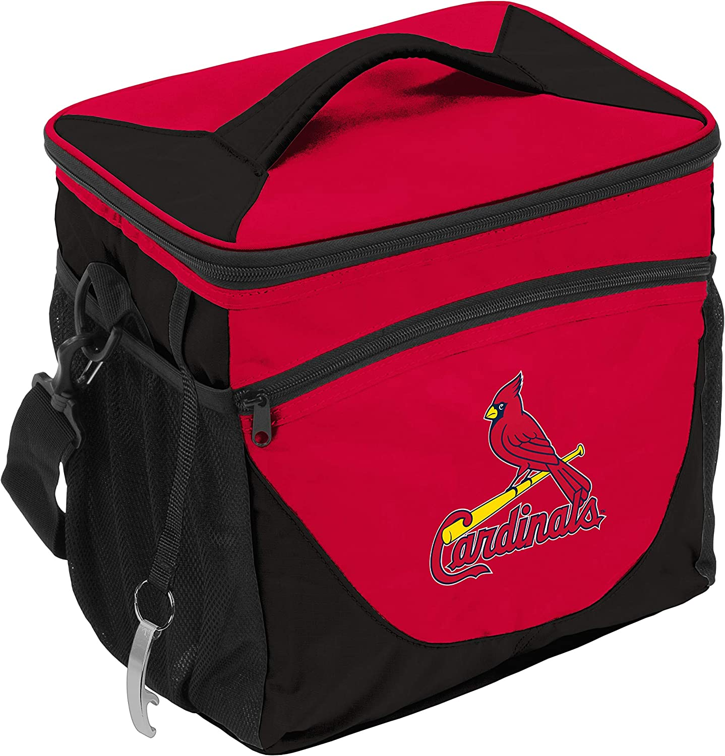 MLB St. Louis Cardinals Cooler 24 Can, Team Colors, One Size