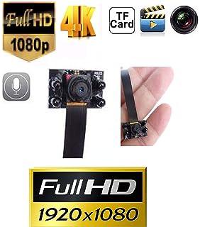 Spy CAM: Cámara microcámara espía Full HD 4 K 2 K 1080p 720p LED Infrarrojos, visión Nocturna Mini videovigilancia…