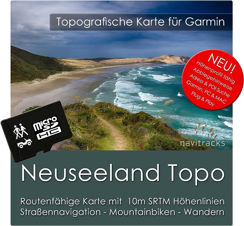 Nueva Zelanda Garmin tarjeta Topo 4 GB MicroSD. Mapa Topográfico de GPS Tiempo Libre para Bicicleta Senderismo Excursiones Senderismo Geocaching & Outdoor. Dispositivos de Navegación, PC & Mac: Amazon.es: Electrónica