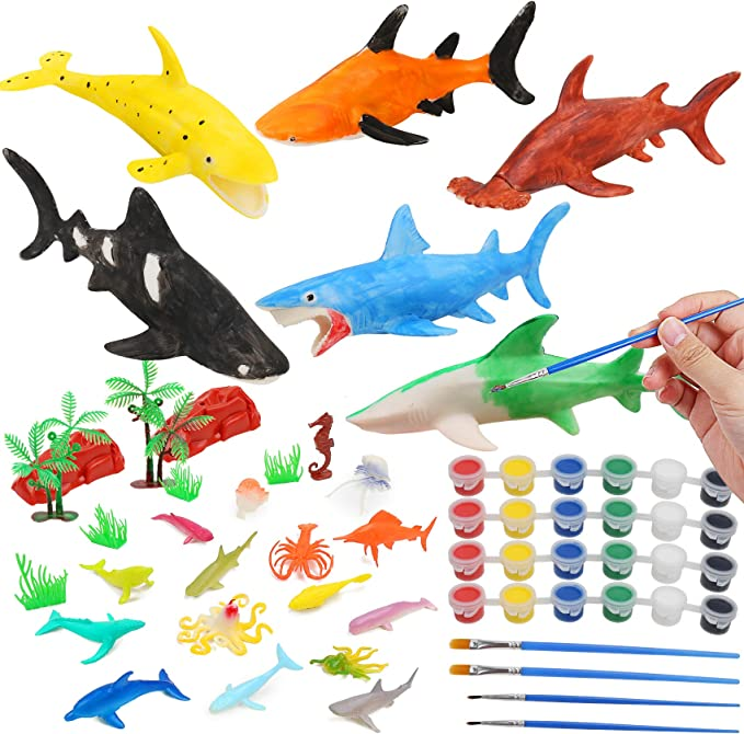 13 X LARGE REALISTIC SEA LIFE ANIMAL CARD CUT OUT SHAPES KIDS PARTY DECORATION