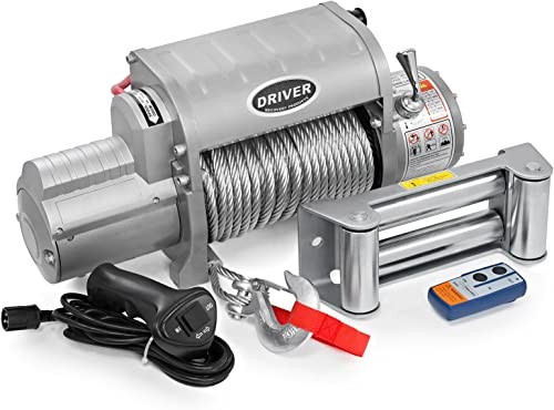 LD12-ELITE Electric Heavy Duty Recovery Winch