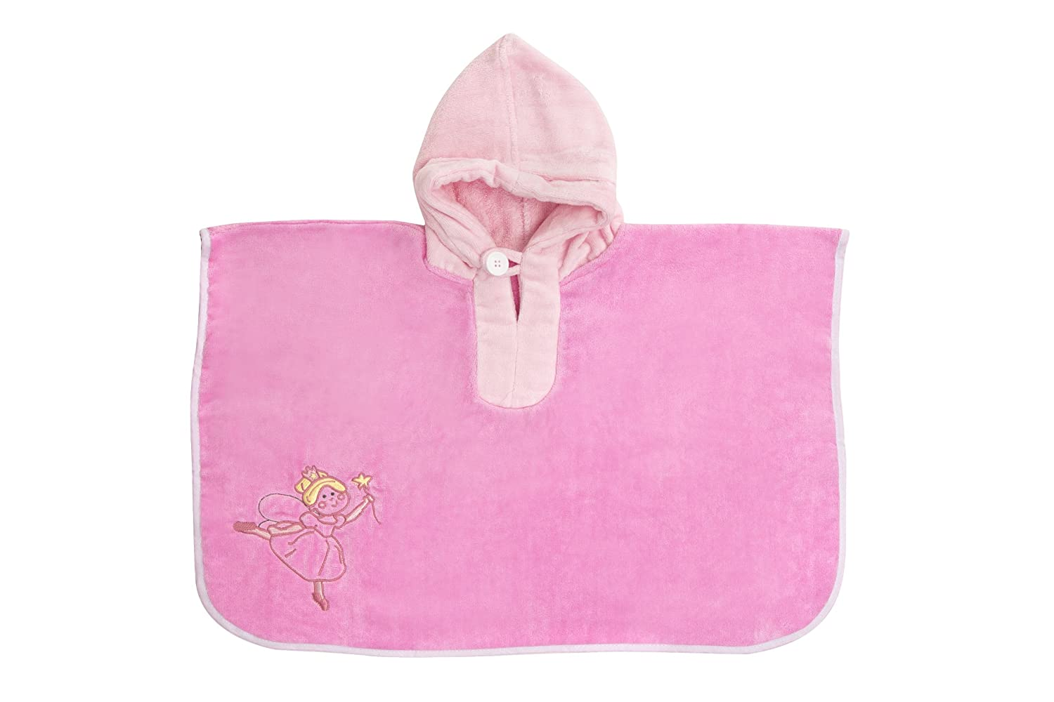 Slumbersafe Baby/Toddler Bath Poncho Towel Pink Fairy PON700-3