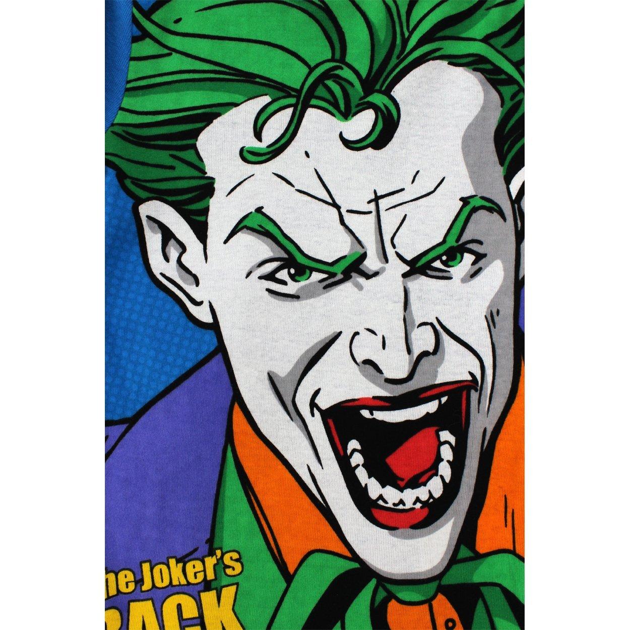 Batman y el Joker niños 4 pc algodón pijama Set: Amazon.es: Ropa y accesorios