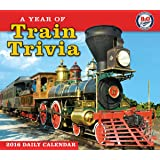 Year of Train Trivia 2016 Boxed/Daily Calendar