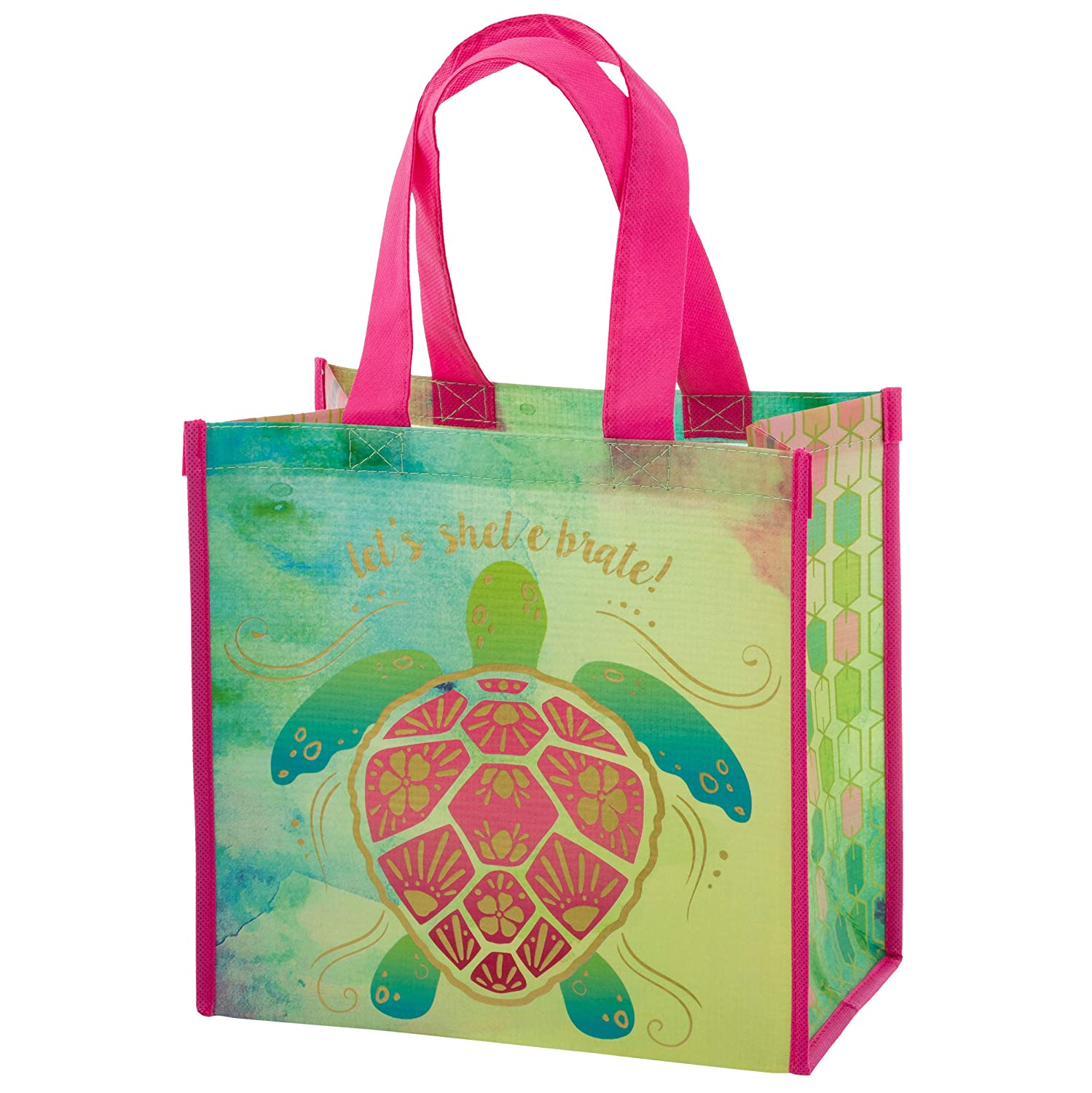 Karma Gifts Medium Gift Bag, Accessory, Turtle, No Size Tony Bennett Stephen Joseph Inc. KA203175